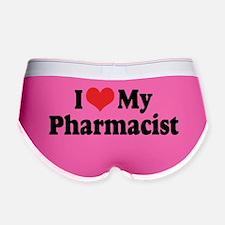 I Love My Pharmacist Women's Boy Brief
