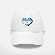 I Love Argentina Baseball Baseball Cap