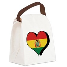 I Love Bolivia Canvas Lunch Bag