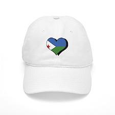 I Love Djibouti Baseball Cap