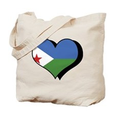 I Love Djibouti Tote Bag