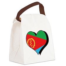 I Love Eritrea Canvas Lunch Bag