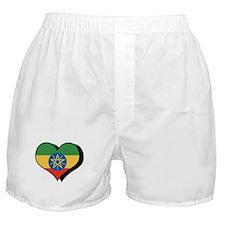 I Love Ethiopia Boxer Shorts