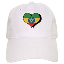 I Love Ethiopia Baseball Cap