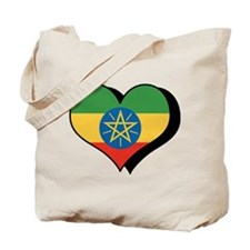 I Love Ethiopia Tote Bag