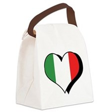I Love Italy Canvas Lunch Bag