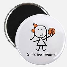 "Girls Got Game 2.25"" Magnet (10 pack)"