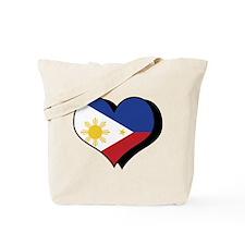 Cute Phillipine flag Tote Bag