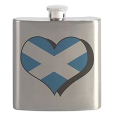 I Love Scotland Flask