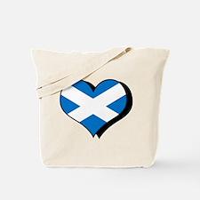 I Love Scotland Tote Bag