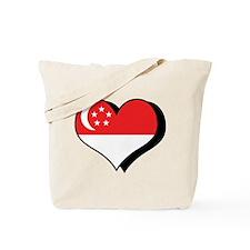 I Love Singapore Tote Bag