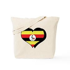 I Love Uganda Tote Bag