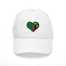 I Love Zambia Baseball Cap