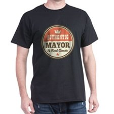 Mayor Funny Vintage T-Shirt