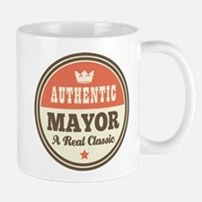 Mayor Funny Vintage Mug