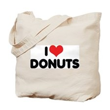 I Love Donuts 2 Tote Bag