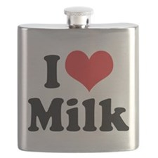 I Love Milk 2 Flask