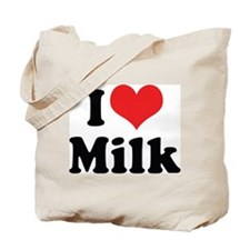 I Love Milk 2 Tote Bag
