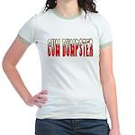 Cum Dumpster 3 Jr. Ringer T-Shirt