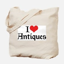 I Love Antiques 2 Tote Bag