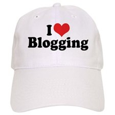 I Love Blogging 2 Baseball Cap