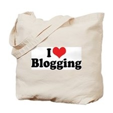 I Love Blogging 2 Tote Bag