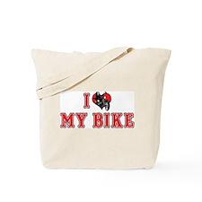 I Love My Bike 2 Tote Bag