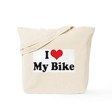 I Love My Bike 3 Tote Bag