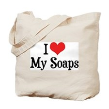 I Love My Soaps Tote Bag