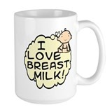 Breast feeding Large Mugs (15 oz)