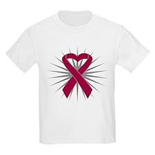 Multiple Myeloma Heart T-Shirt