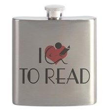 I Love To Read Flask