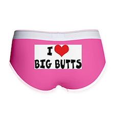 I Love Big Butts Women's Boy Brief
