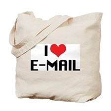 I Love Email Tote Bag