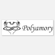 Polydragon Polyamory Bumper Bumper Bumper Sticker