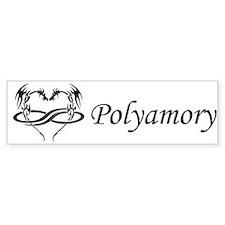 Polydragon Polyamory Bumper Bumper Sticker