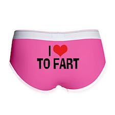 I Love To Fart 2 Women's Boy Brief