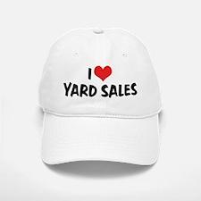 I Love Yard Sales Baseball Baseball Cap