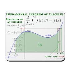 Fundamental Theorem of Calculus Mousepad
