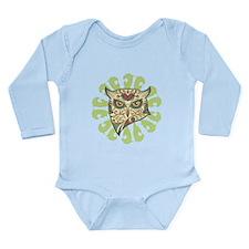 Sugar Owl Long Sleeve Infant Bodysuit