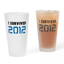 2012 DOOMSDAY Drinking Glass