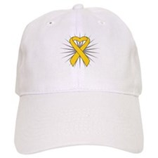 Neuroblastoma Heart Ribbon Hat