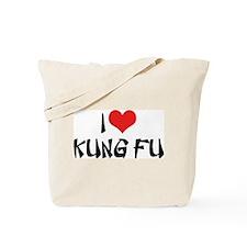 I Love Kung Fu 2 Tote Bag