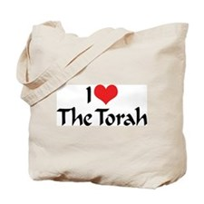 I Love The Torah Tote Bag