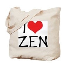 I Love Zen 2 Tote Bag