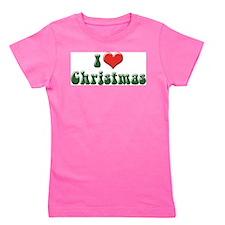 I Love Christmas 2 Girl's Tee