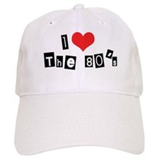 Cute I love 80 s Baseball Cap