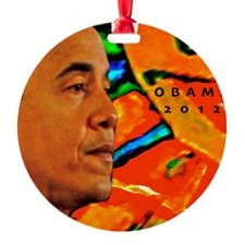 Cool Obama Ornament
