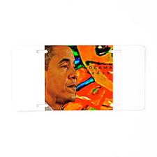 Cool Obama Aluminum License Plate