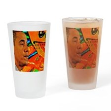 Cool Obama Drinking Glass